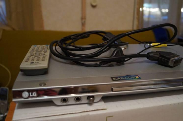видеоплеер LG караоке