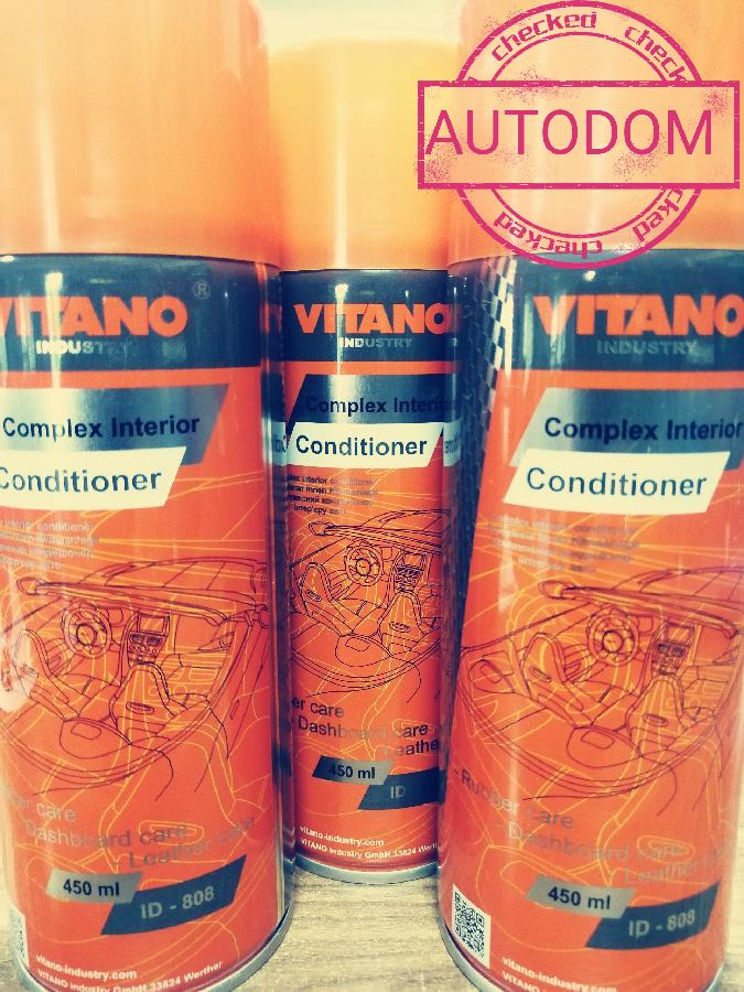 Полироль для пластика и кожы ТМ Vitano