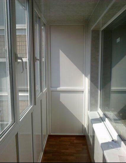 Внутрення обшивка и ремонт балконов под ключ