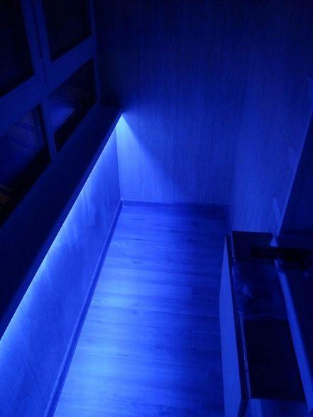 Внутренняя отлелка балкона