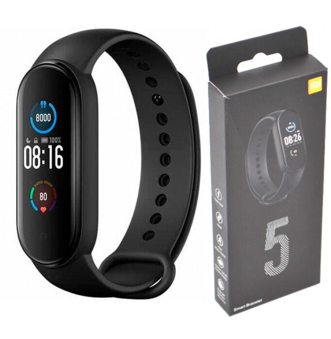 Фитнес-браслет  M5 Black с магнитной зарядкой