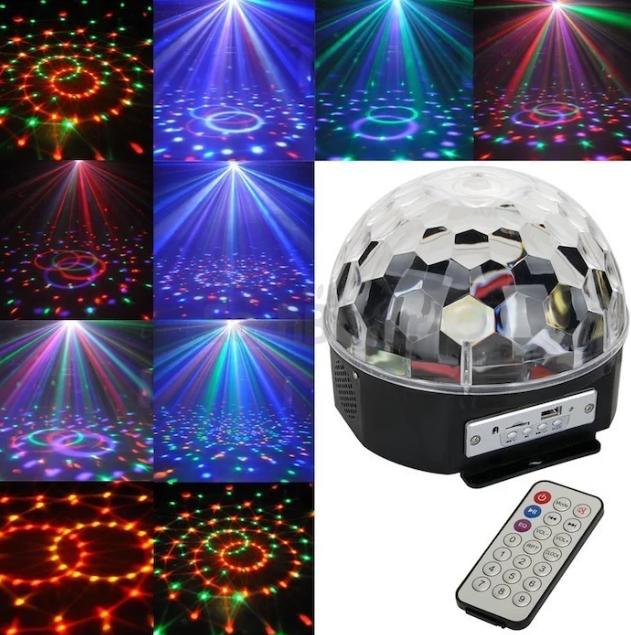 Светомузыкальный диско шар Magic Ball Music