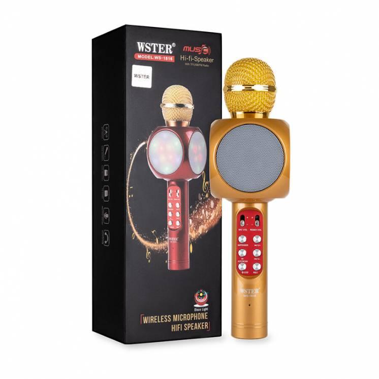Микрофон WS1816 Gold + Чехол для хранения