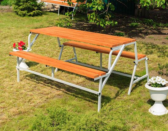 Лавка садова трансформер, скамейка садовая трансформер 3 в 1