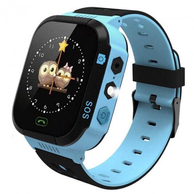 Детские умные Smart Watch KIDS Original GPS часы Blue