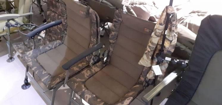Кресла и раскладушки карповые
