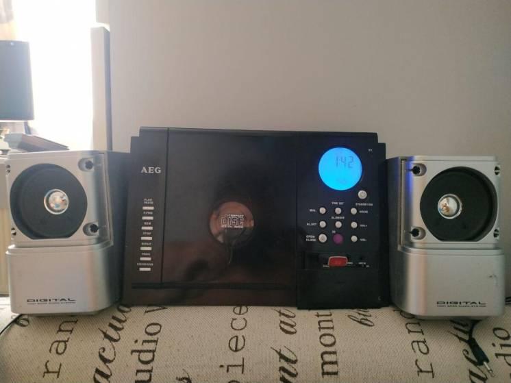Музыкальный центр USB/AUX/RADIO/MP3