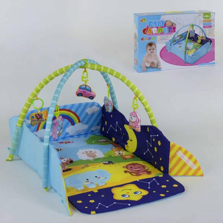 Коврик для младенца, 5 мягких подвесок