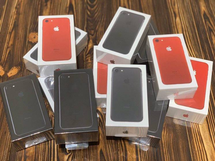 Iphone 7 128 gb Black Red Silver