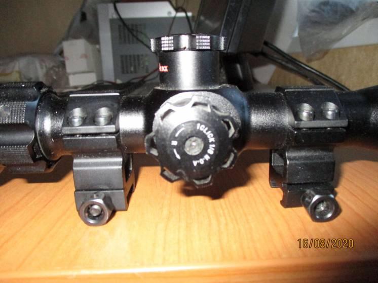 Продам прицел BSA Contender 4-16x40 RGBGE