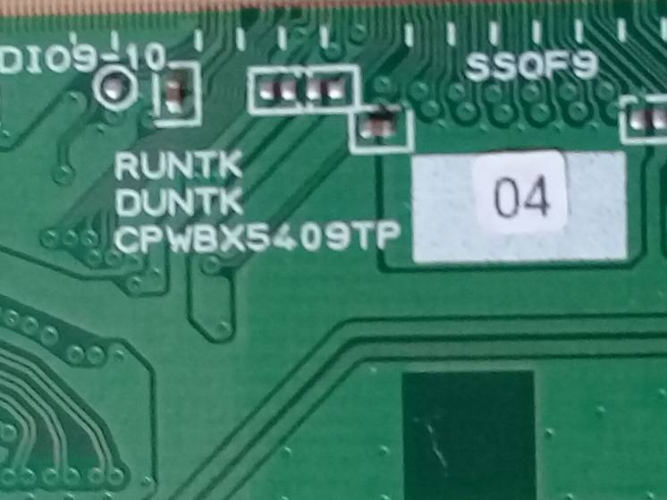 Продам   CPWBX5409TP   T-Con