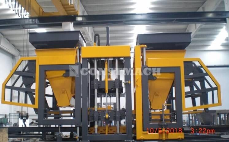 Вибропресс для производства тротуарной плитки Constmach BS42 (1000-125