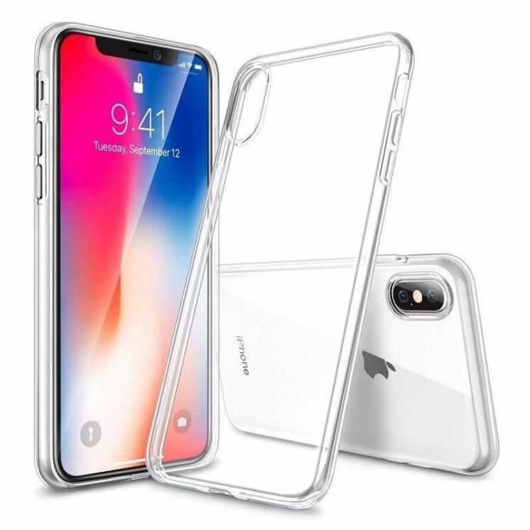 Чехол для Apple iPhone X Xs Силиконовый бампер