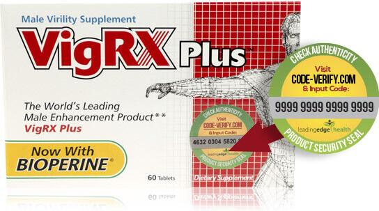 Оригинальный VigRX Plus США для увеличения пениса и повышения потенции
