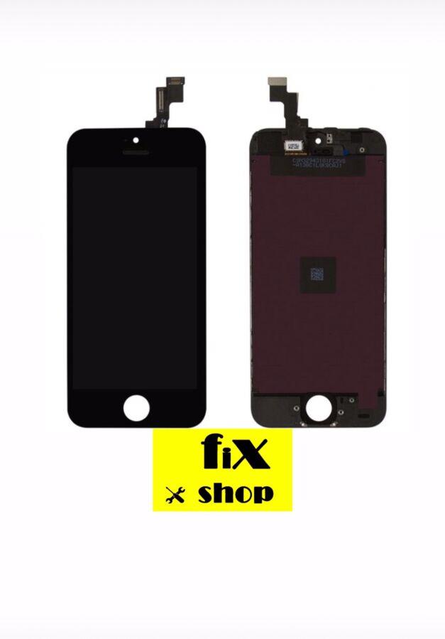 Дисплей Apple iPhone 5S, iPhone SE + защитное стекло 49 грн