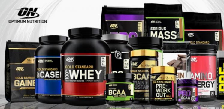 Optimum Nutrition спортивное питание от производителя