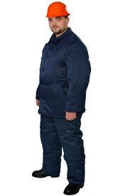 Рабочая ватная курточка, спецодежда утепленная