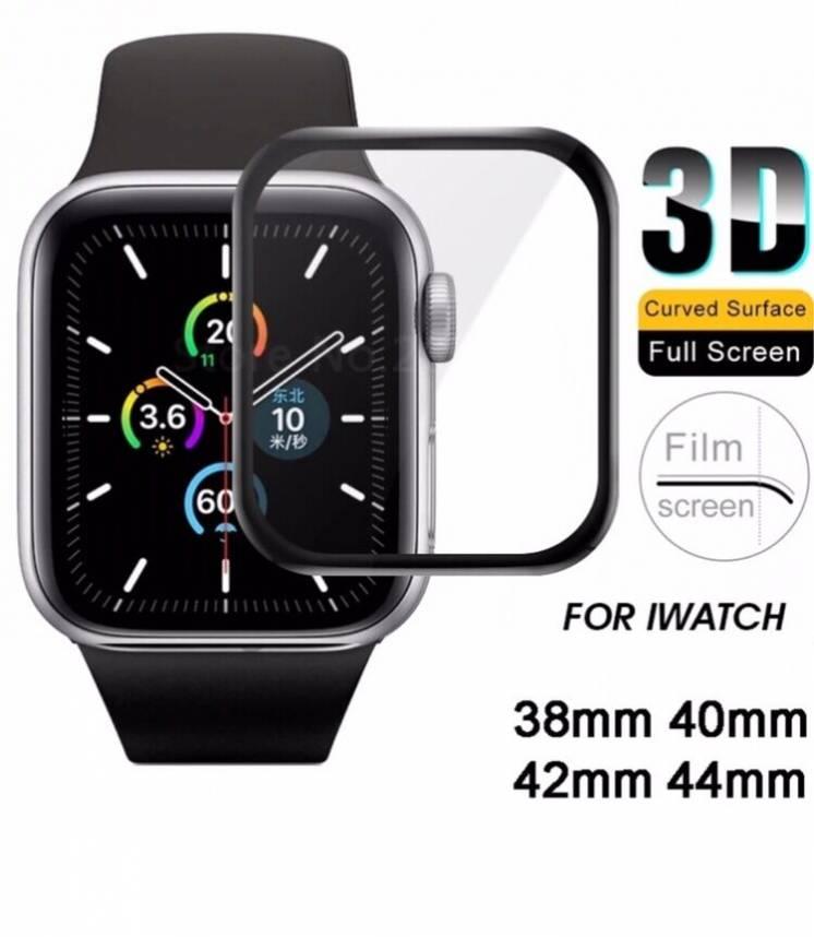 Защитные 3D стекла для Apple iWatch series 1,2,3,4,5 / 38,40,42,44mm