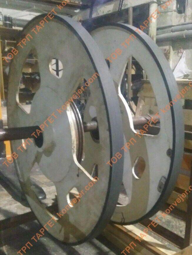 Обрезинивание колес и траков