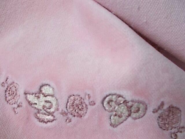 Ткань велюр плюш хлопок нежно- розовый For Hand Made, поделок