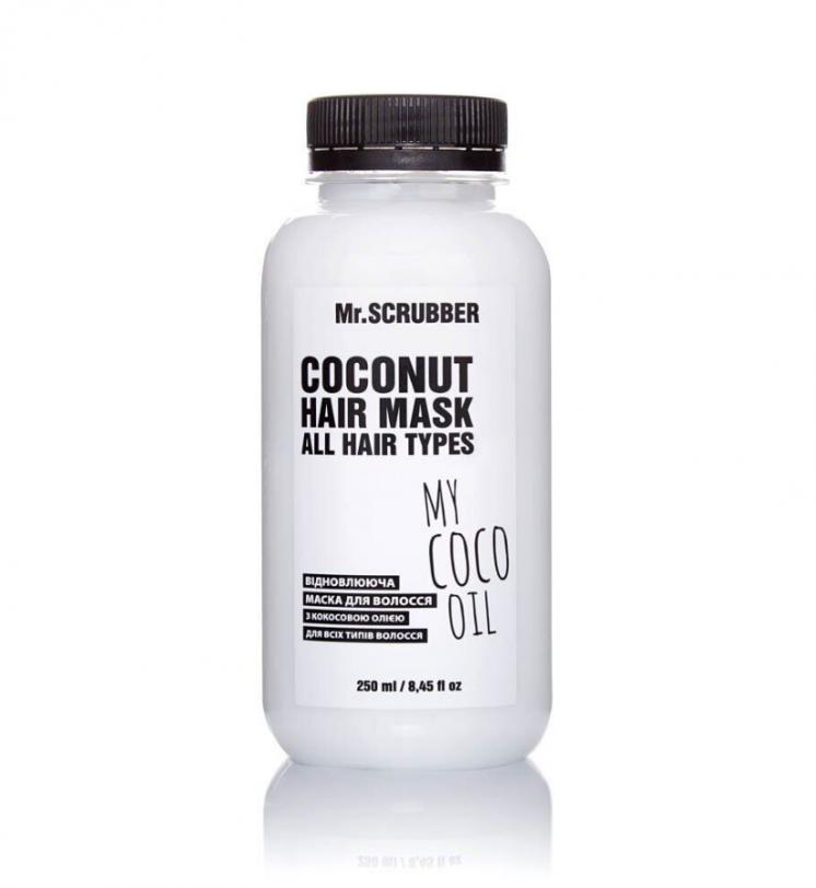 Восстанавливающая маска для волос с кокосовым маслом Mr.SCRUBBER