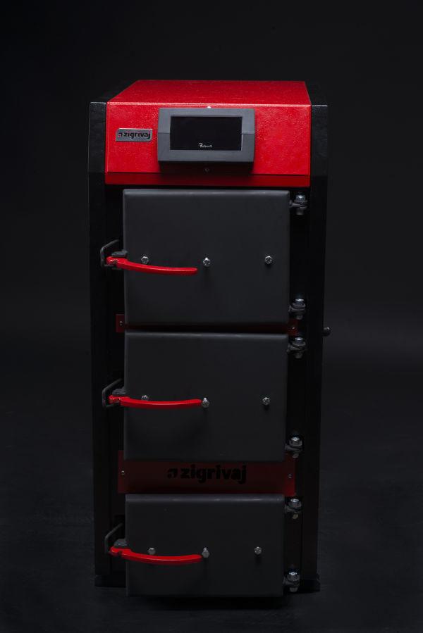 Твердотопливный пиролизный котел Zigrivaj 12-25 кВт