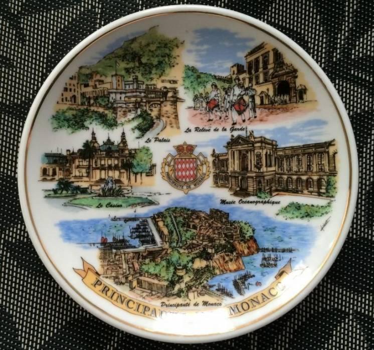 Коллекционная тарелка МОНАКО Герб