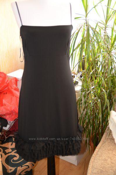 вечерние платья из Англии, НМ и Манго, размер Л