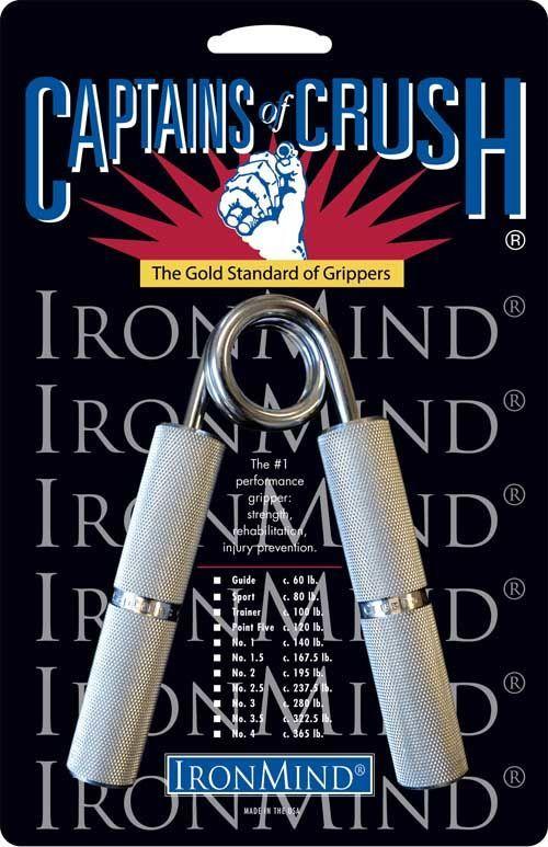 Качественный Эспандер Captains of Crush №1 –63 кг сильный хват