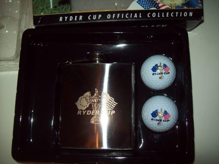 Набор подарочный гольф фляга мяч для гольфа