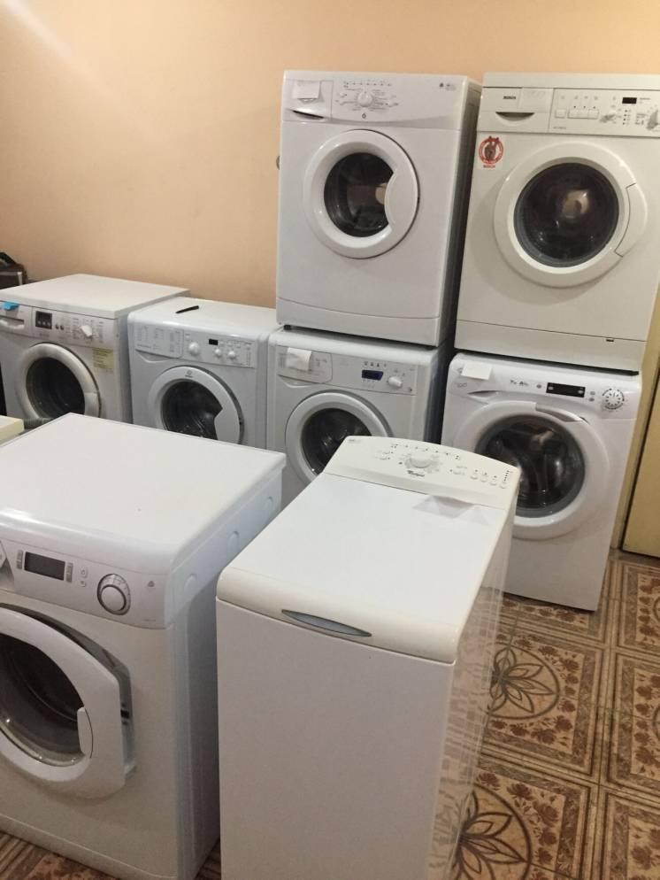 Продажа б/у стиральных машин. Гарантия. Доставка