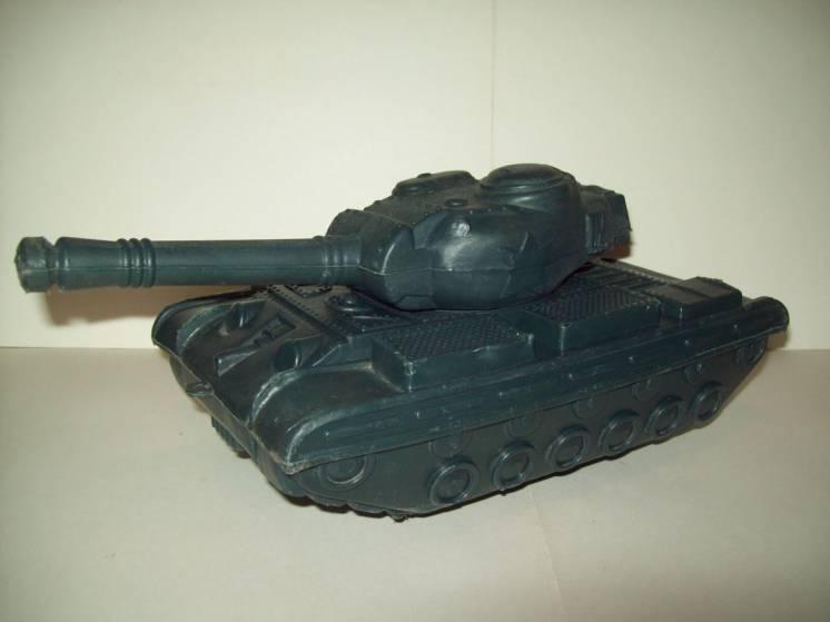Игрушка танк дутыш СССР