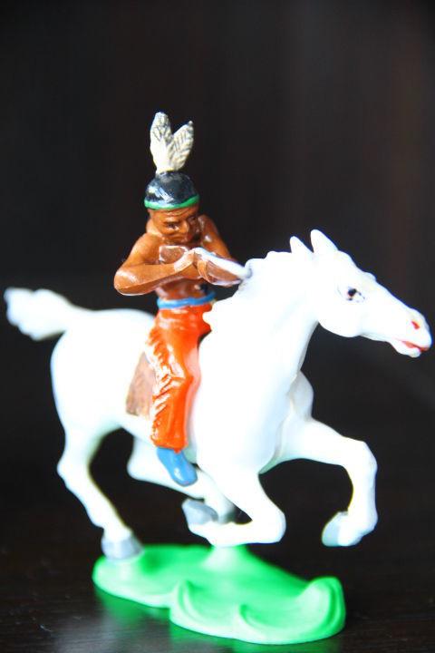 индейцы ковбои ГДР (№302+№015)