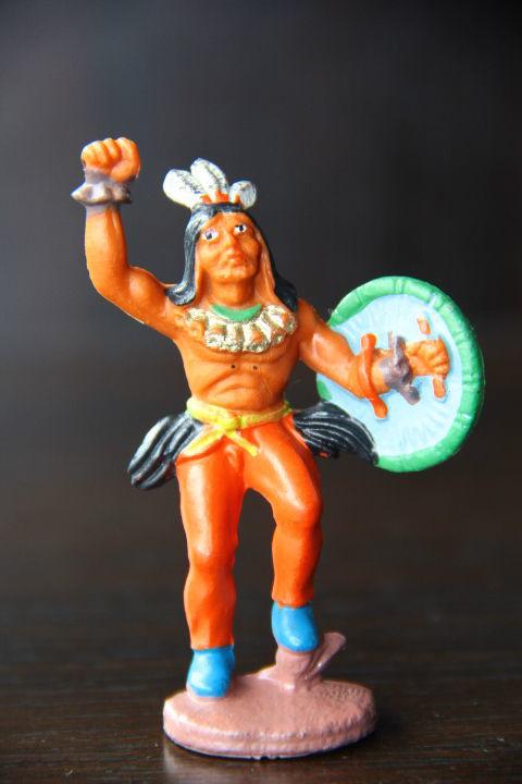 индейцы ковбои ГДР ( №029)в красных брюках RRR