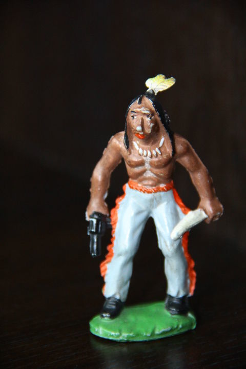 индейцы ковбои ГДР ( № 044)