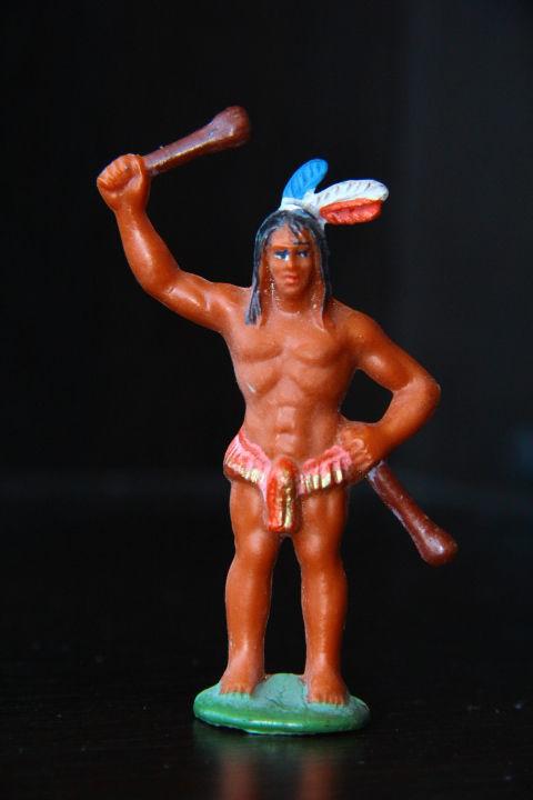 индейцы ковбои ГДР ( № 056)