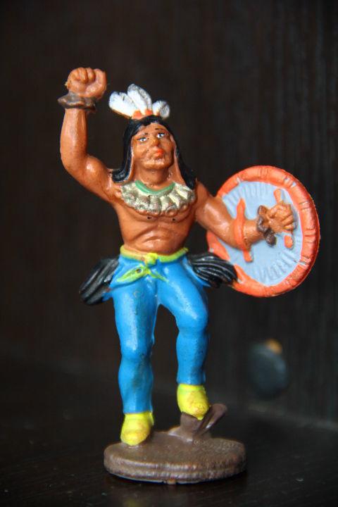 индейцы ковбои ГДР ( №029)
