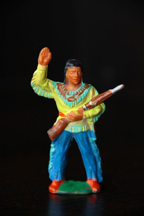 индейцы ковбои ГДР (№064)
