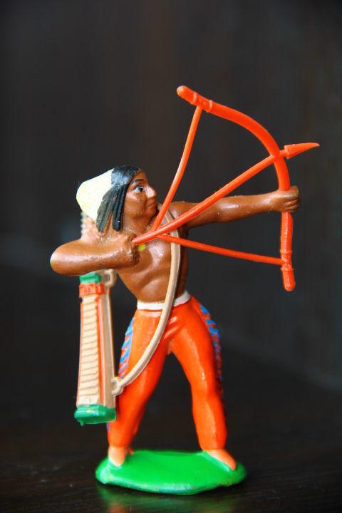 индейцы ковбои ГДР (№020)