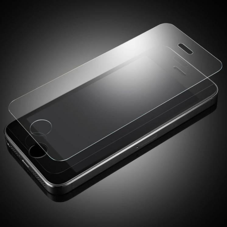 Защитное закаленное стекло для iPhone 5,5s