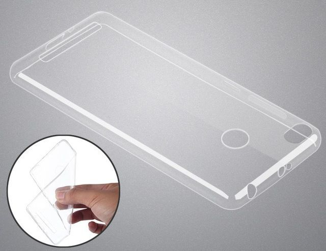 Чехол бампер прозрачный  для Xiaomi Redmi 3S