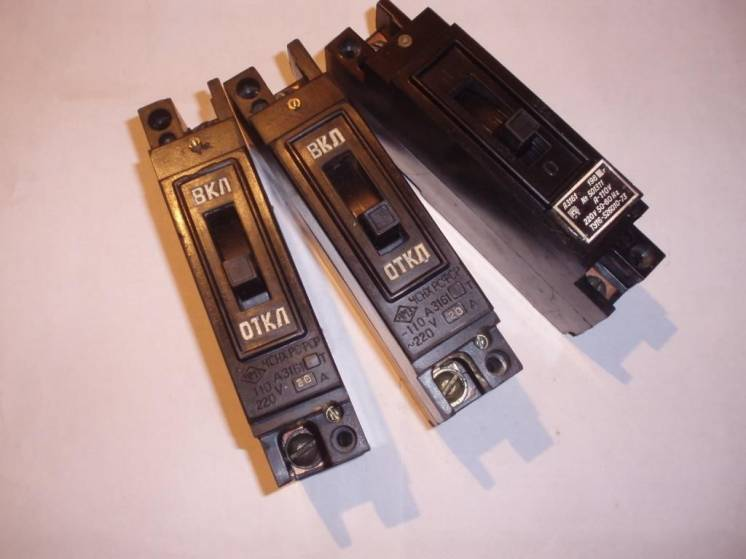 Автоматический выключатель А 3161