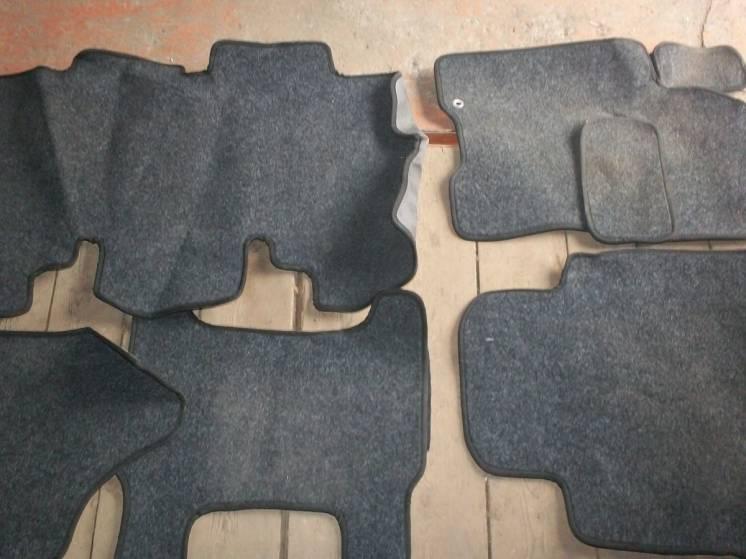 Автомобильные полы-коврики