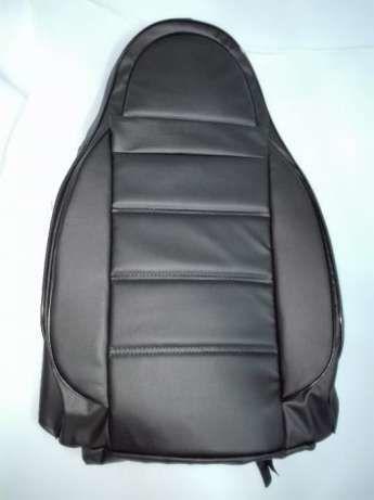 Чехлы для авто на сиденья ВАЗ 2111 2112 LADA Пилоты Черные кожзам