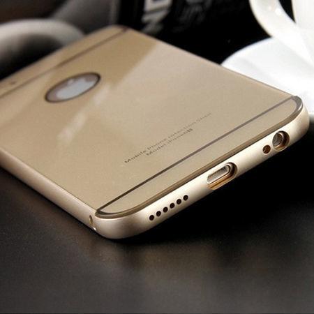 iPhone 6 бампер чехол алюминий+акрил