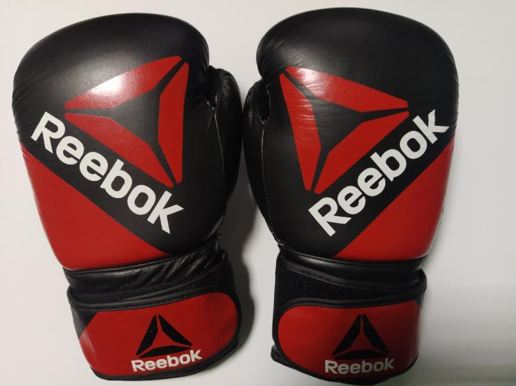 Рукавички Перчатки Бокс Reebok Combat Leather Training Gloves, 14oz