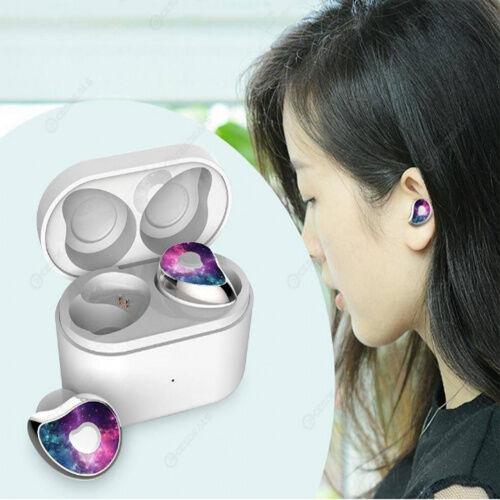 Беспроводные наушники MDR HBQ SE6 TWS Bluetooth с зарядным блоком Whit