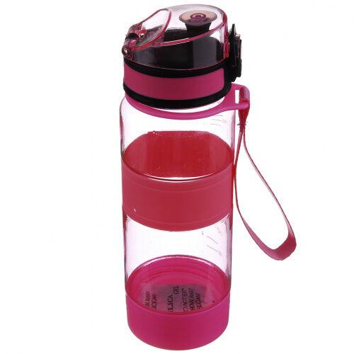 Спортивная бутылка A-PLUS 450 мл (PB-450) Розовая