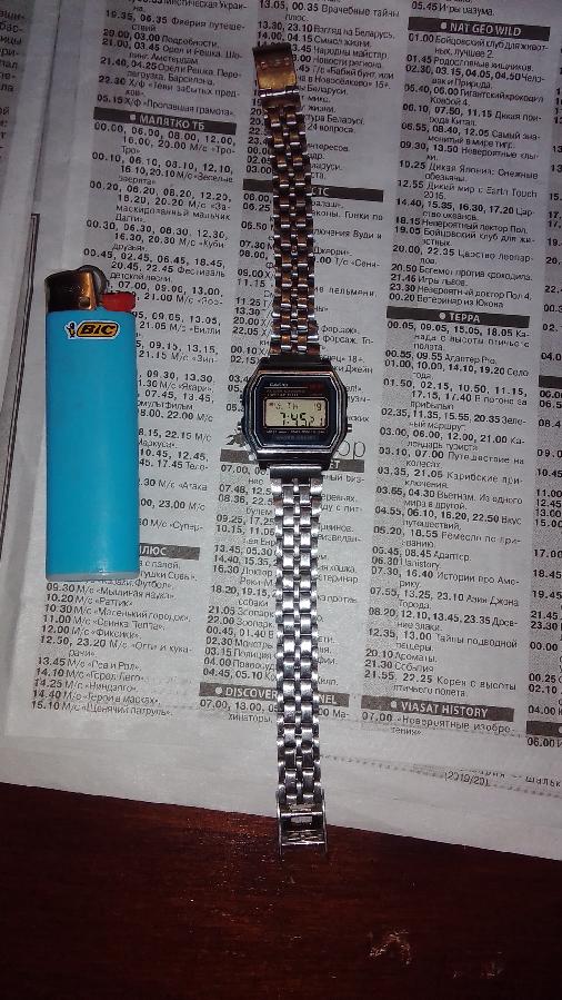 Часы наручные. Casio 593.