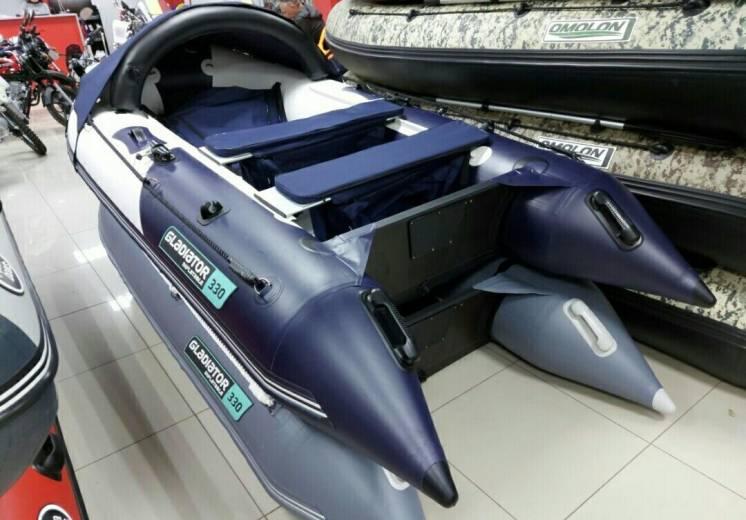Лодка Gladiator С 330 AL с алюминиевым полом